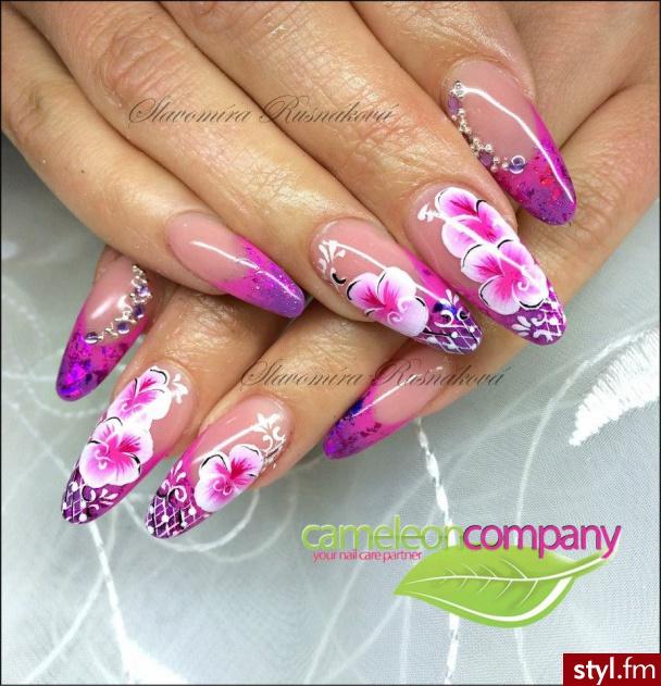 Trendy Manicure Paznokcie Inspirowane Wiosną