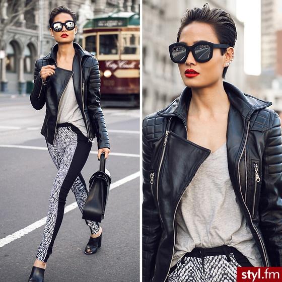 720d01068eb32 Know how  jak nosić czarną ramoneskę