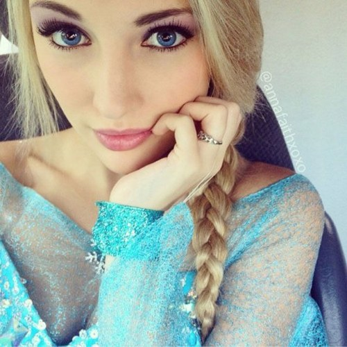 Anna Faith Elsa Z Krainy Lodu Naprawdę Istnieje