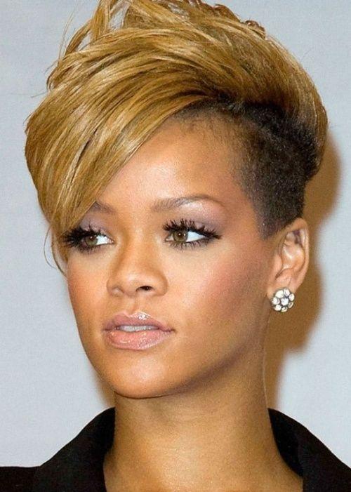 Hairstyles For Short Dead Hair : Najlepsze kr?tkie fryzury Rihanny