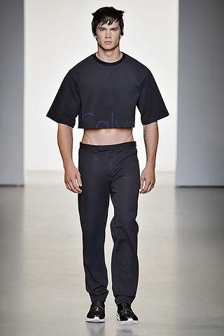Nowy trend na męskie crop top?