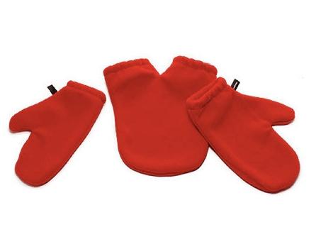 Wspólne rękawiczki do trzymania rąk