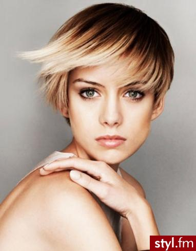 blonde and brown two toned hairstyles