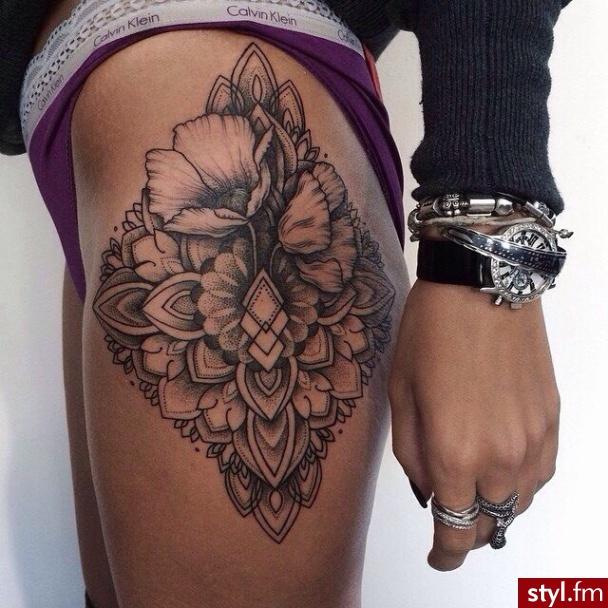 Hit Tatuaże Na Udo Galeria Najlepszych Inspiracji