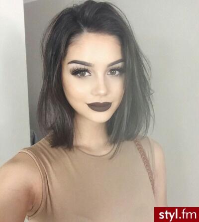 Włosy Do Ramion Galeria Kobiecych Trendów Na Rok 2016