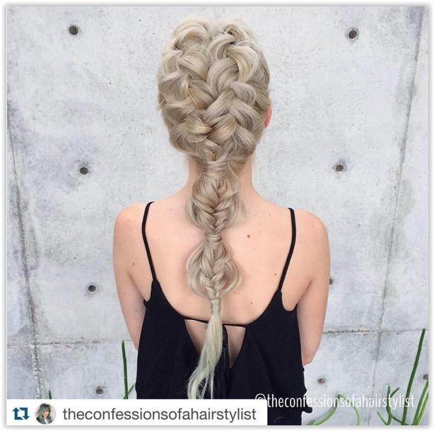 Młodzieńczy Najpiękniejsze plecione fryzury z Instagram. Sięgnij po najnowsze JB63