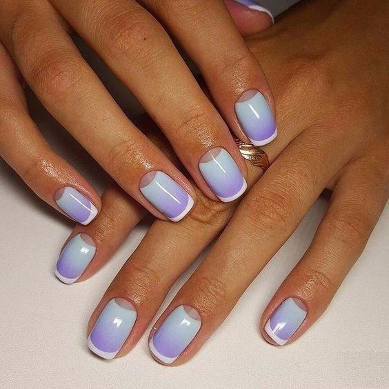 Красивые ногти дизайн гель 18