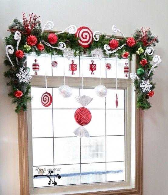 Dekoracje świąteczne Na Okno 20 Fantastycznych Pomysłów Na Boże