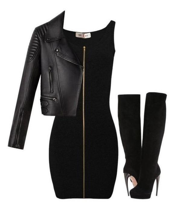 8524d35a14 Czarna sukienka na sylwestra. Stylizacje z małą czarną
