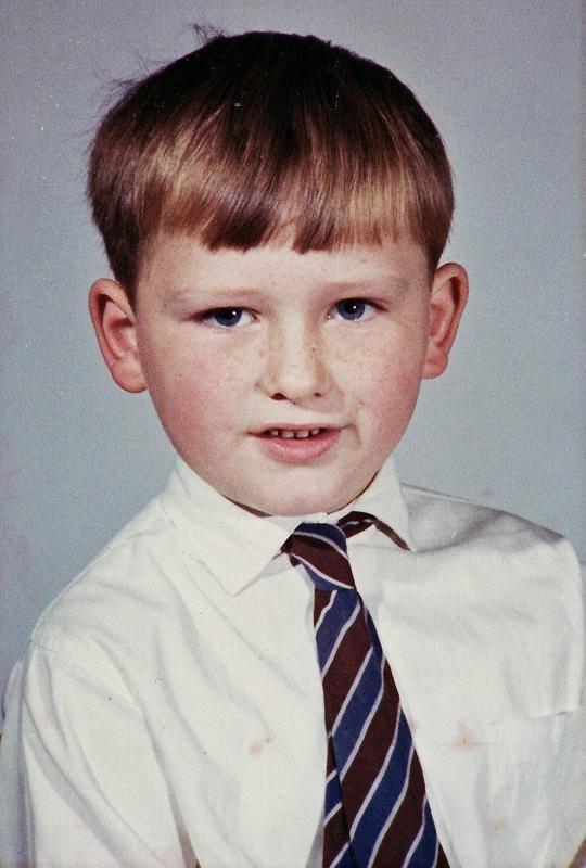 Paul nie zawsze tak wyglądał. Przed laty był szczupłym chłopcem