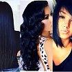 Midnight blue - boski kolor włosów dla brunetek!