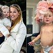 Żona mistrza narciarskiego Bode'a Millera pokazała zdjęcie umierającej córeczki. Ten obraz i słowa matki rozdzierają serce...