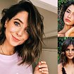 30 pomysłów na fryzurę dla brunetek i szatynek - włosy krótkie i półdługie