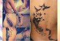 Tatuaż z piórem - 22 śliczne wzory dla dziewczyn