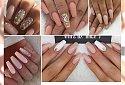 Nude coffin manicure - delikatne paznokcie o specyficznym kształcie