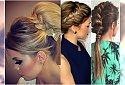Fryzury na wesele 2016 - urocze uczasania dla długich włosów