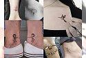 Małe dziewczęce tatuaże, które skradną Twoje serce! [22 ZDJĘCIA!]