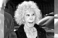 Nie żyje księżna Alby - skandalistka, jedna z najbogatszych kobiet świata