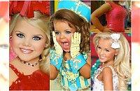 Małe miss: Makijaż, wypchany biust, tipsy. Ich matki zrobią wszystko, by zdobyły tytuł najpiekniejszej