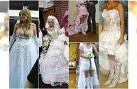 Ślubny kicz, tandeta i bezguście. Te panny młode nie zachwyciły stylem