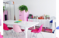 20 Kolorowych pomysłów na dekoracje wnętrza na wiosnę 2015