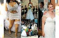 Ślubne wpadki: 40 śmiesznych zdjęć ze ślubów, które stały się hitami sieci