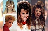 Szalone lata 80. Pamiętacie te fryzury? Kto nie uległ tej paskudnej modzie...