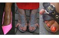 Wstyd! Jak można tak wyjść z domu? Zobaczcie dowody na to że noszenie sandałek to trudna sztuka...