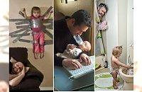 HIT INTERNETU: Dzień Ojca -  najśmieszniejsze zdjęcia tatusiów z ich pociechami.