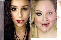 Nowy trend w sieci: Kobiety malują połowę twarzy. Sprawdźcie, o co chodzi