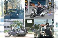 Mistrzowie ruchu drogowego - Aż dziwne że to przeżyli....