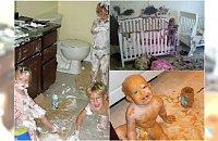 Mistrzowska demolka, czyli dlaczego nie warto zostawiać dzieci samych w domu