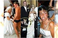 Śluby i wesela to czasami niezły cyrk! Te zdjęcia rządzą w sieci
