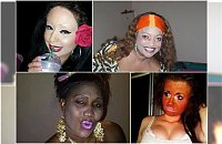Boginie piękności nakładają make up szpachlą - Najgorsze makijażowe wpadki w sieci!