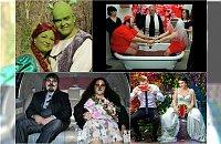 Weselny cyrk czyli 25 najdziwniejszych ślubnych sesji zdjęciowych w sieci!