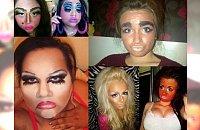 """Co za WPADKI! Te makijaże będą śniły się nam po nocach... 24 """"śmieszne"""" i jednocześnie żałosne make-upy, które Cię zszokują!"""