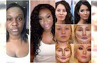 Najlepsze makijażowe transformacje. Konturowanie potrafi zdziałać cuda!