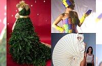 Sukienki z choinki, kondomów i talerzy, czyli najdziwniejsze sukienki znalezione w sieci!