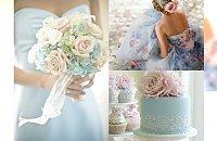 Trendy 2016: Inspiracje ślubne w kolorach Pantone 2016 - Cudowne zdjęcia motywów w pastelowych barwach