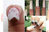 """Stylistki paznokci chwalą się swoim """"talentem"""". Żałośniej wyjść nie mogło..."""