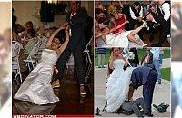 Najlepsze weselne wpadki. Widzieliście większy cyrk?