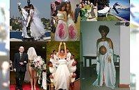 Mega dziwne zdjęcia ze ślubów i sesji ślubnych. Zdjęcie nr 13 woła o litość! Masakra!!!
