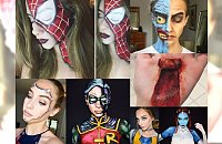 Ma dopiero 15 lat, a huczy o niej cały internet! Tworzy mega efektowne artystyczne makijaże, na widok których otworzysz szeroko oczy!