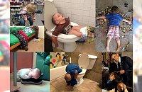 40 zdjęć, które udowadniają, że dzieci są w stanie zasnąć dosłownie WSZĘDZIE! Tego jeszcze nie było!