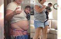 Nadwaga, tłuste włosy, zero makijażu i niechlujny ubiór - czy tak musi wglądać młoda mama?