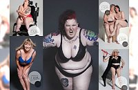 Pokazały swoje prawie nagie ciała, żeby walczyć ze stereotypami! Te odważne kobiety udowadniają, że piękno ma różne oblicza! Tej galerii nie można nie zobaczyć...