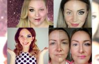 PÓŁ NA PÓŁ! Odważne kobiety pokazują się w dwóch odsłonach i ujawniają jak makijaż zmienia ich wygląd! PRZEŻYWAMY SZOK I NIEDOWIERZANIE!