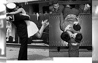 ACH! Jak oni się kochali... Zobaczcie najpiękniejsze pocałunki II wojny światowej