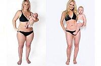 SPEKTAKULARNE metamorfozy matek: zdjęcia w trakcie i po ciąży