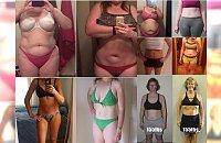 Tym kobietom waga wskazuje taką samą ilość kilogramów, ale ich ciała wyglądają zupełnie inaczej! AŻ CIĘŻKO W TO UWIERZYĆ! Chyba jednak nie warto wzorować się na koleżankach…